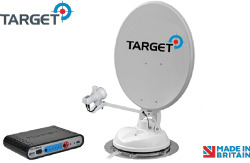 Maxview Target 65cm / 85cm Satellite System with Single or Twin LNB